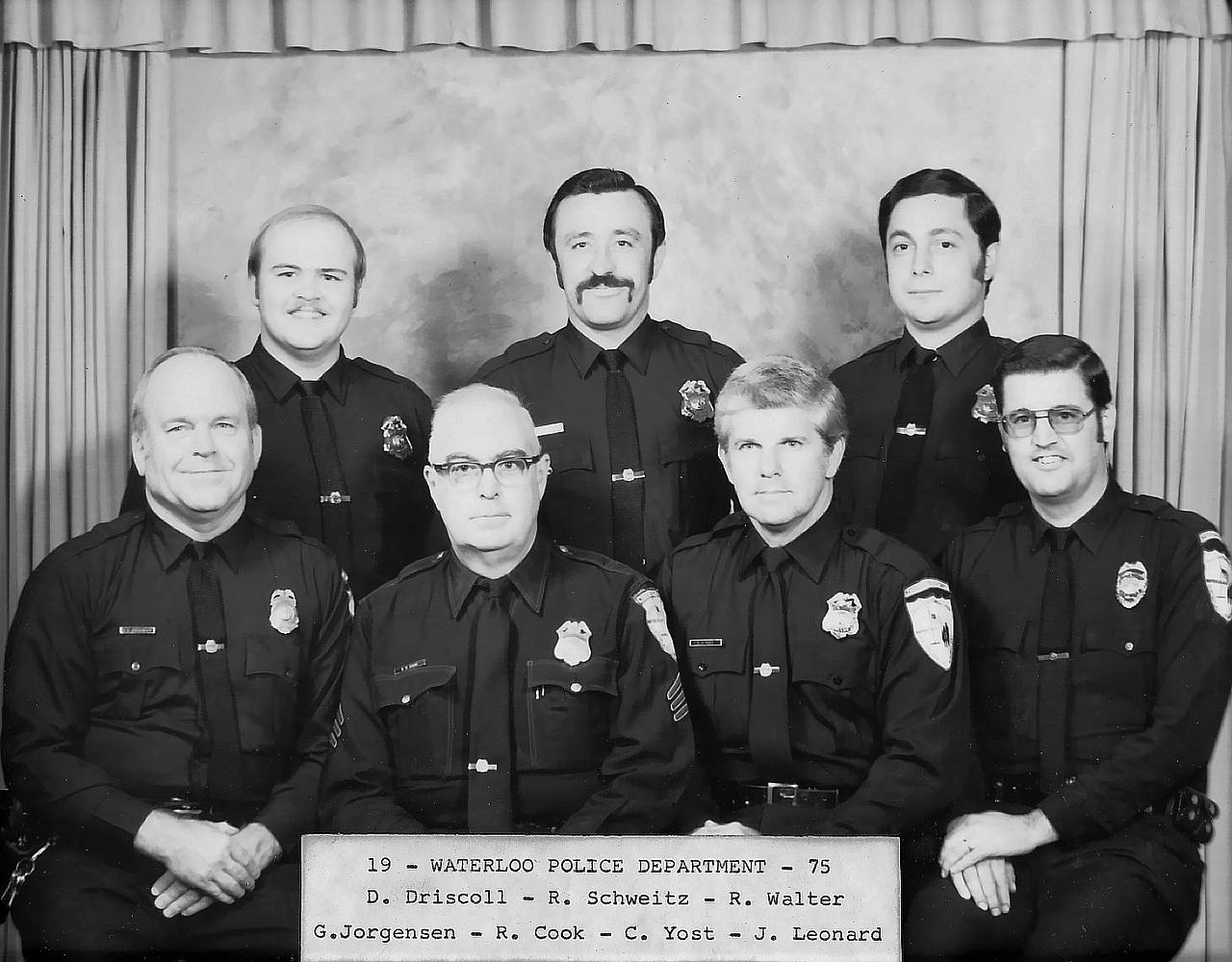 History | Waterloo Police Department